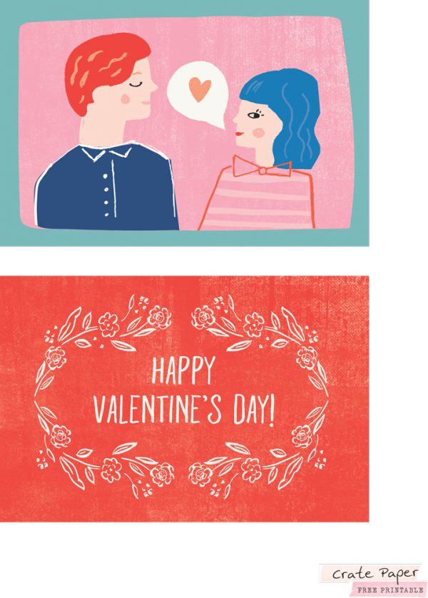 SCT Newsletter Exclusive - Crate Paper La La Love Printable