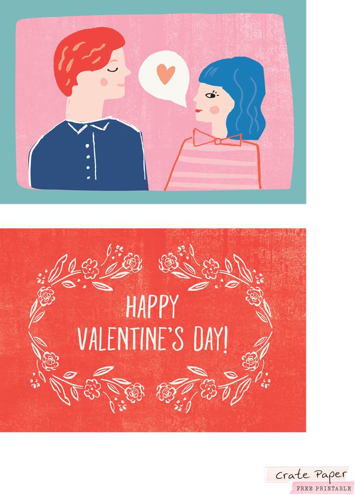 SCT Newsletter Exclusive - Crate Paper La La Love Printable