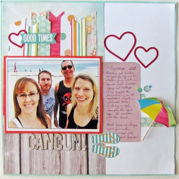 Layout by Barb Pendergast