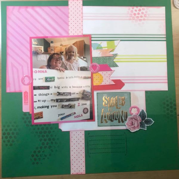 Layout by Sonya Plowman