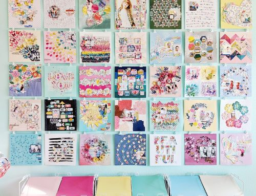 Organization ideas from Meghann & Paige!
