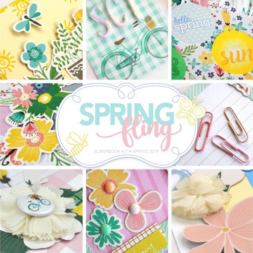 Spring Fling Scrapbook Kit by Scrapbook & Cards Today