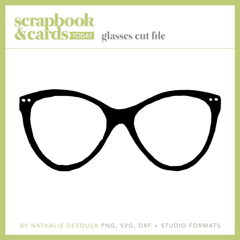 Eyeglasses Free Cut File by Nathalie DeSousa - Spring 2019 - SCT Magazine