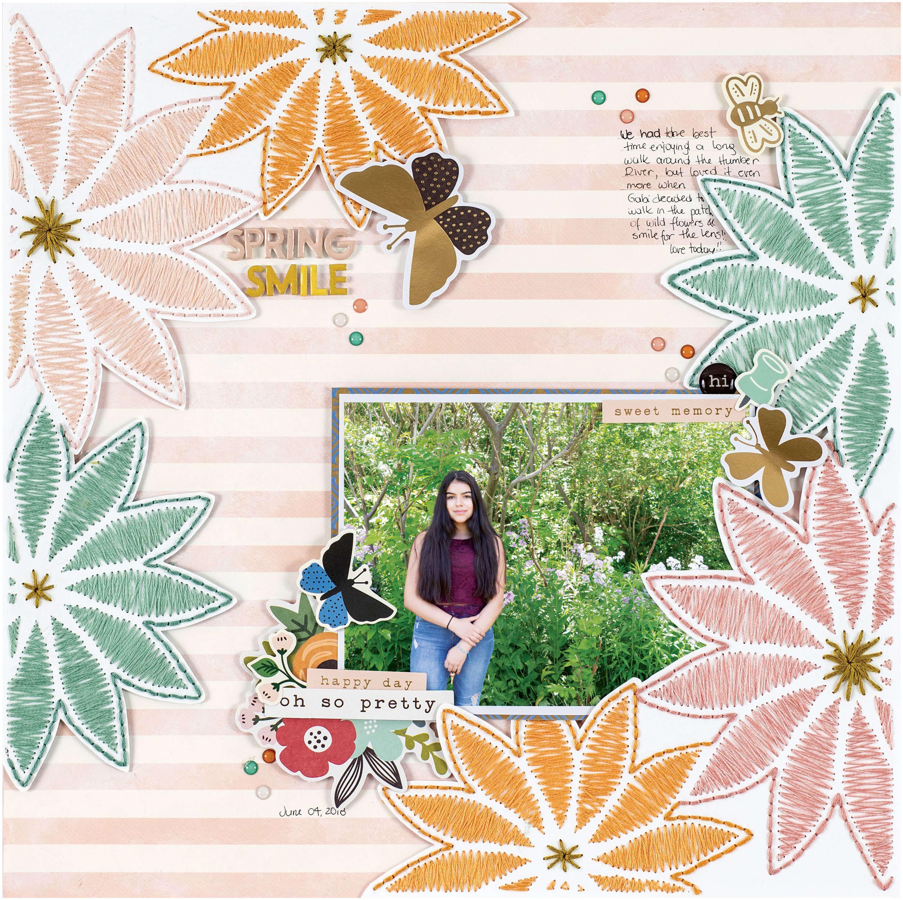 SCT Spring 2019 - Spring Smile by Nathalie DeSousa