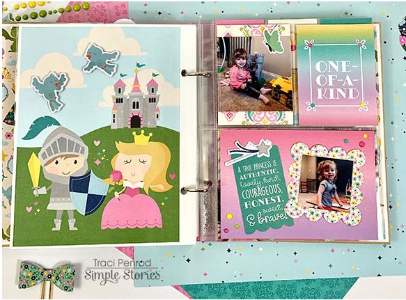 Traci Penrod Album for Simple Stories 1