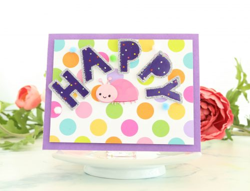 Create fun cards with your SCT Sampler and Crystal Thompson!