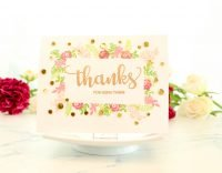 Crystal Thompson for Scrapbook & Cards Today Thanks stamp