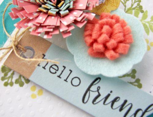 DIY embellishments with Nicole Nowosad!
