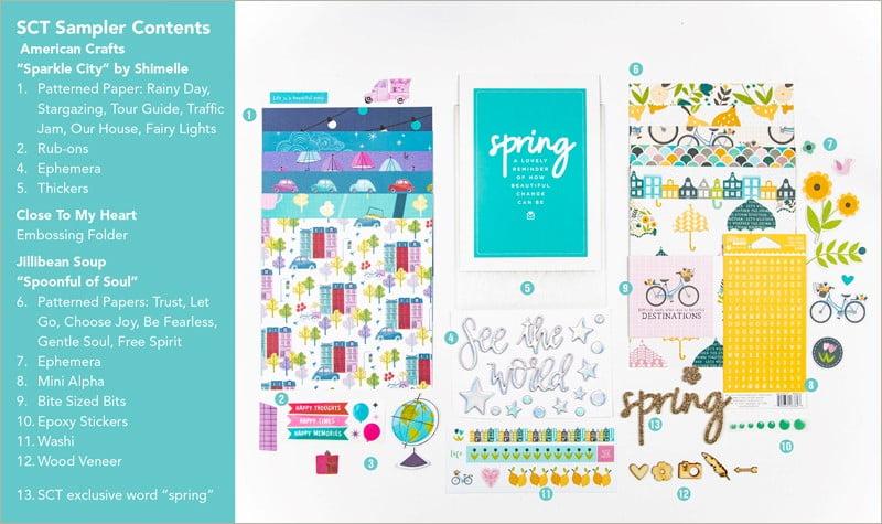 SCT Sampler April 2019 Products