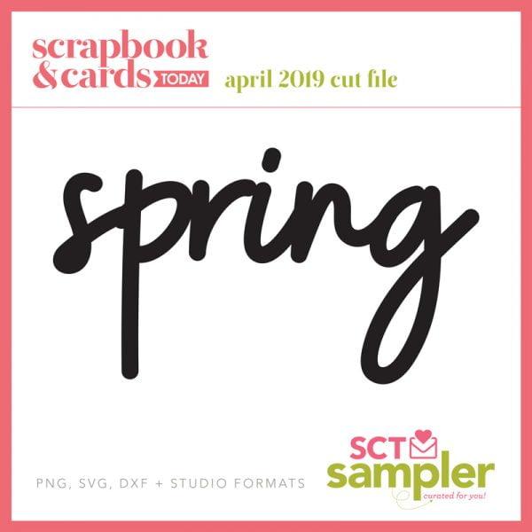 SCT Sampler April 2019 Cut File