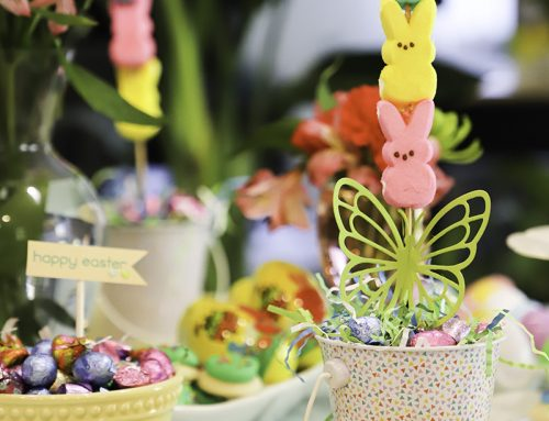 Beautiful Easter table inspiration from Latisha Yoast!