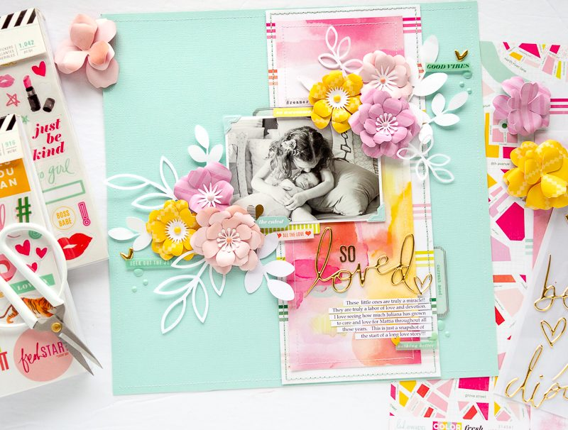 6_NATHALIE DESOUSA FOR SCRAPBOOK AND CARDS TODAY MAGAZINE_SO LOVED