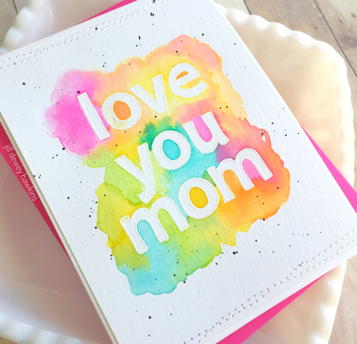 Mother's Day Cardmaking by Jill Hawkins for Scrapbook & Cards Today