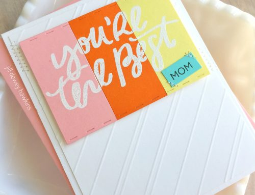 Mother's Day Cardmaking by Jill Hawkins!
