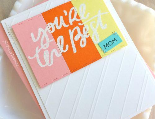 Mother's Day Cardmaking by Jill Hawkins!