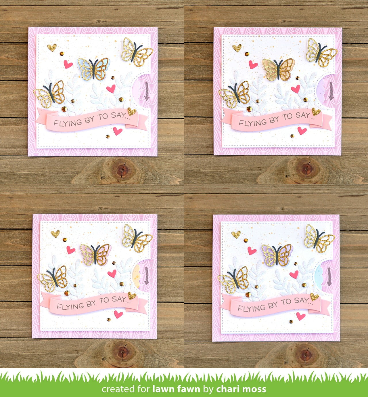 Card created by Chari Moss for Lawn Fawn