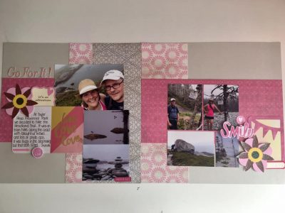 Layout by Lori Ward