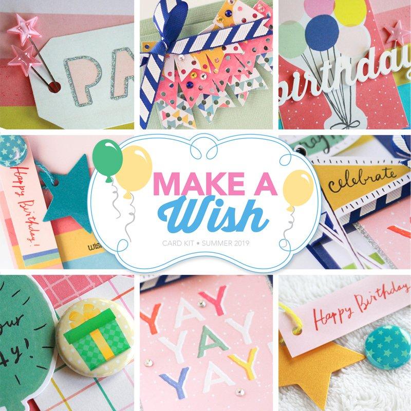 SCT Delivered Make A Wish Card Kit