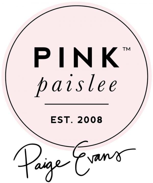 Paige Evans _ Pink Paislee Logo
