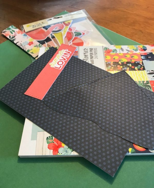 Magazine Monday with EIC Susan Opel for Scrapbook & Cards Today magazine work space