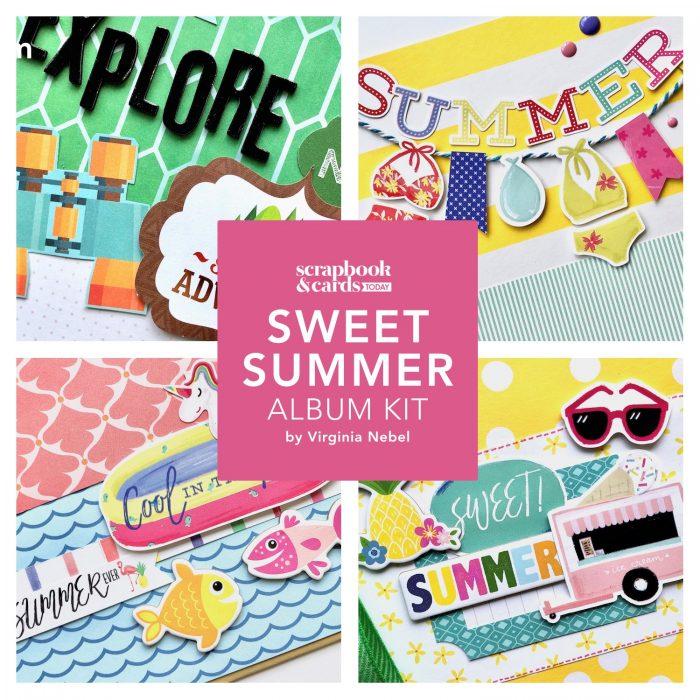 SCT Delivered Sweet Summer Mini Album Kit