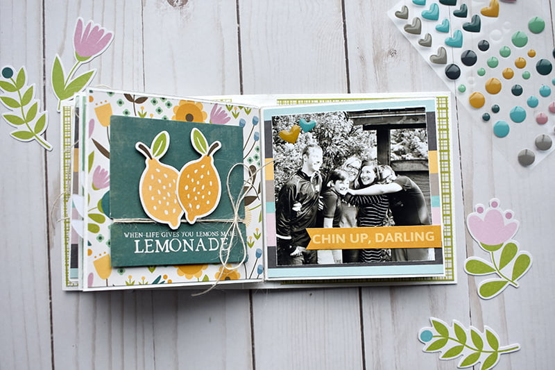 Mother's Day Mini Album by Wendy Sue Anderson for Scrapbook & Cards Today