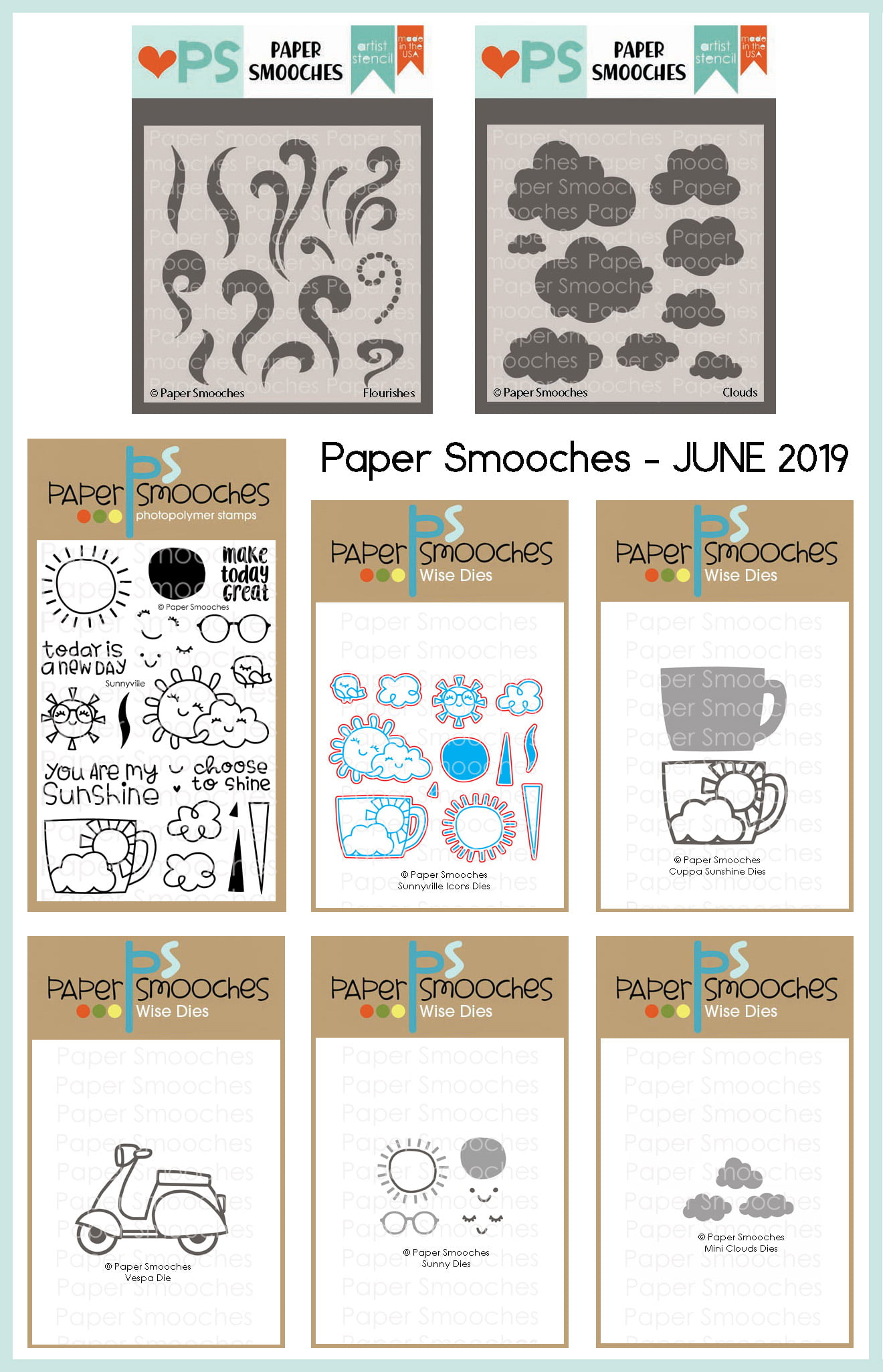 Paper Smooches June 2019 Release