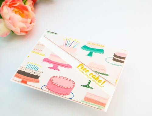 Easy cards with patterned paper with Crystal Thompson!