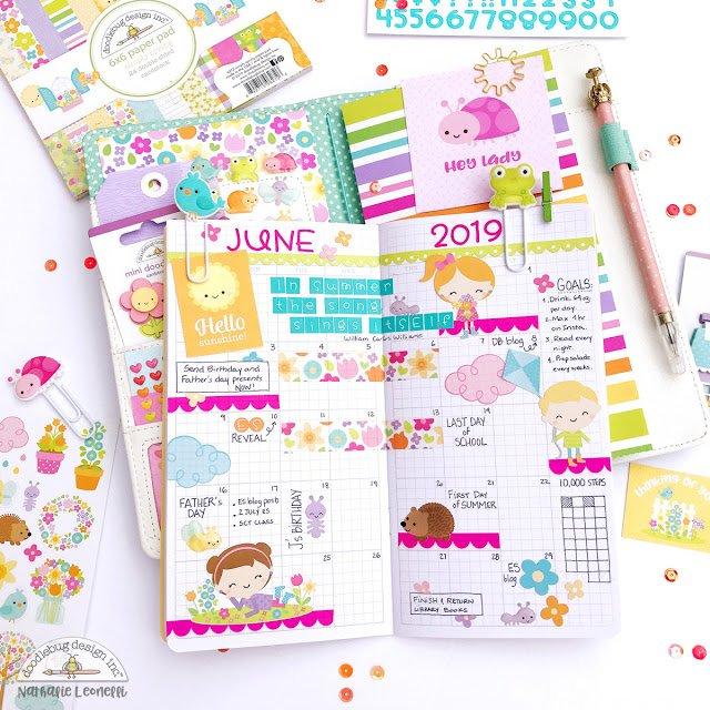 Doodlebug Planner Image