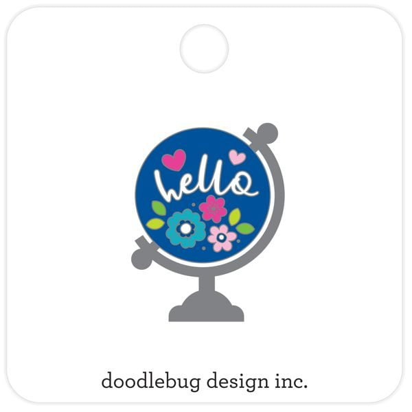Doodlebug Design Hello Pin