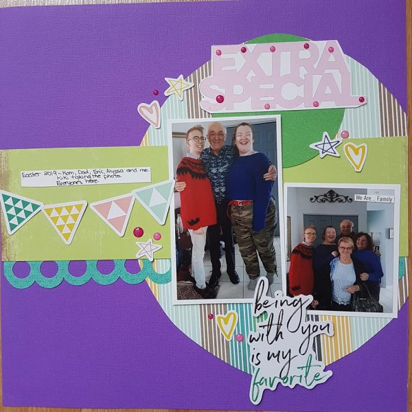 Layout by Linda Roy