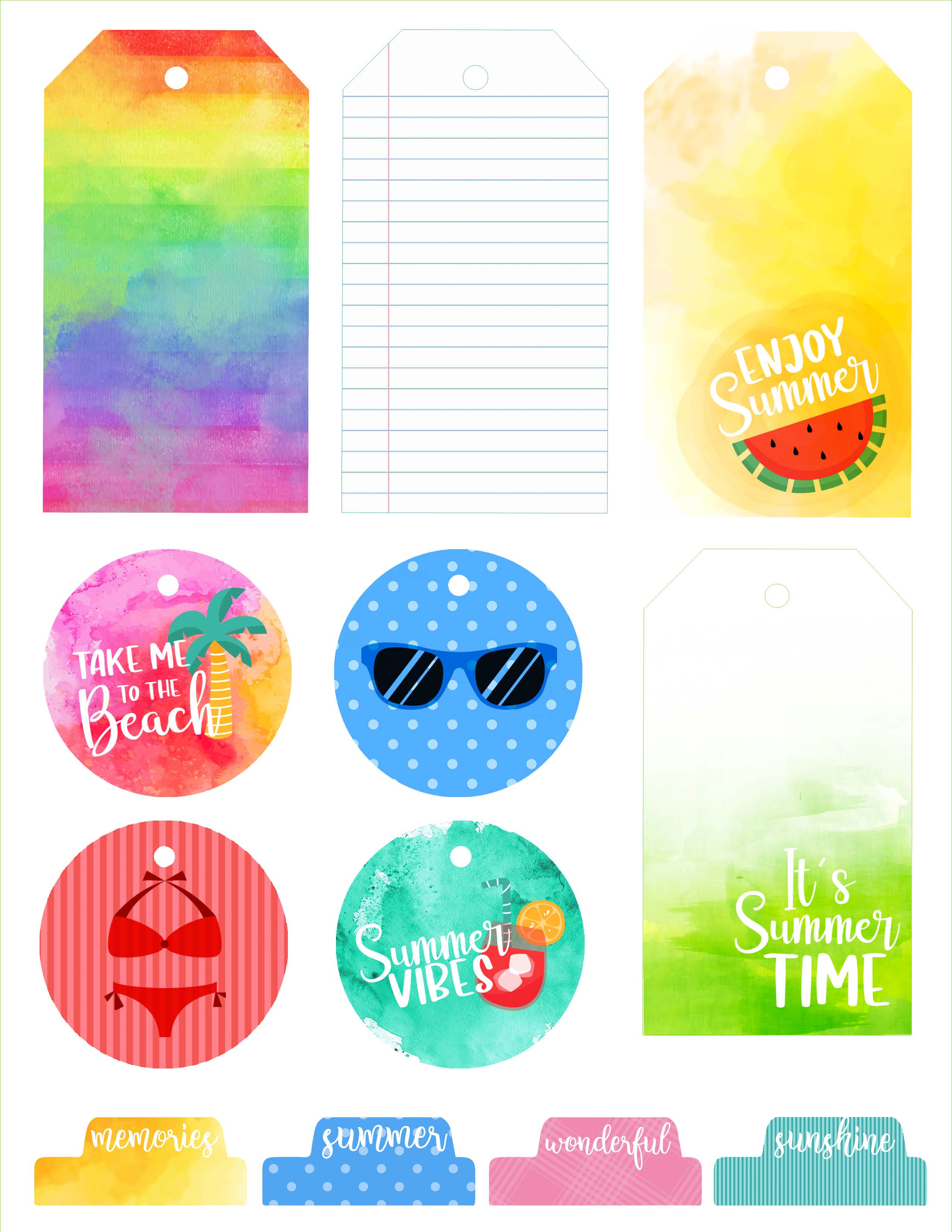 SCT Delivered Kit - Summer 2019 Summertime Dreams Printables