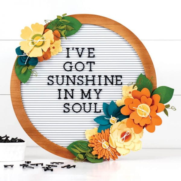 Scrapbook & Cards Today - Summer 2019 - Sunshine In My Soul by Jennifer S Gallacher
