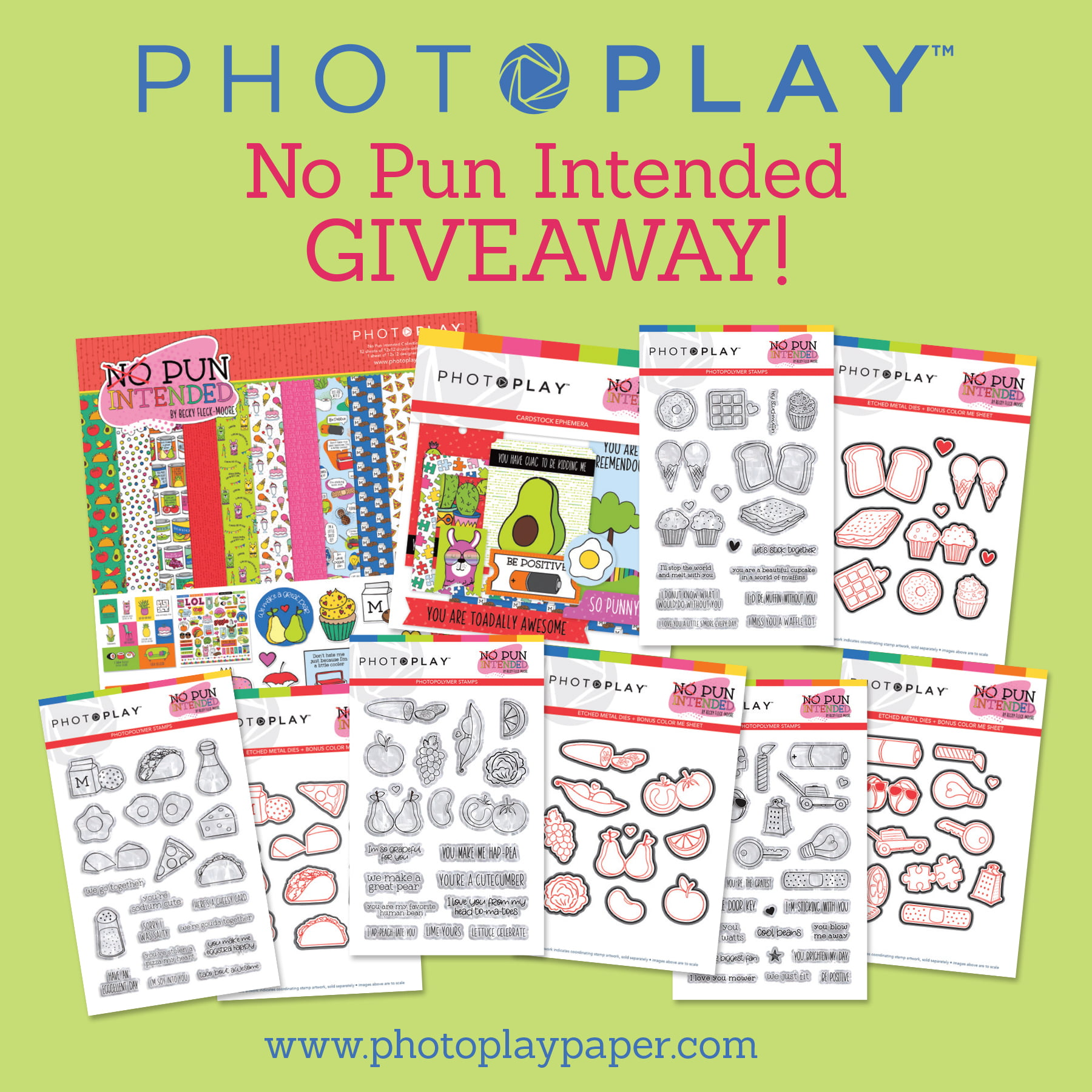 Photoplay Paper giveaway for Scrapbook & Cards Today
