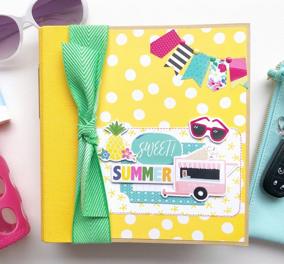 SCT Delivered Kit - Sweet Summer Mini Album Kit