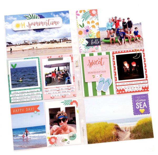 Oh Summertime by Nathalie Leonelli for SCT365 2019 Inside the Pocket July Inspiration