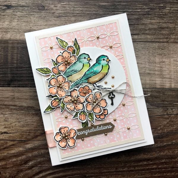 Stampin' Up! for Scrapbook & Cards Today Bird Ballad Photo2