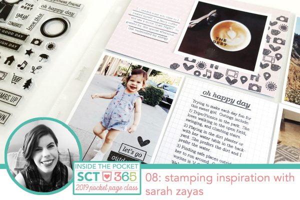 SCT365 Inside the Pocket August 2019 Inspiration Lesson Header