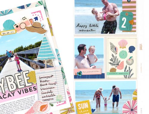 Coordinating pocket pages and layouts with Meghann Andrew!