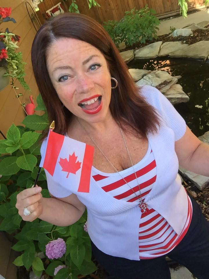 Susan Open Canada Day for SCT Magazine