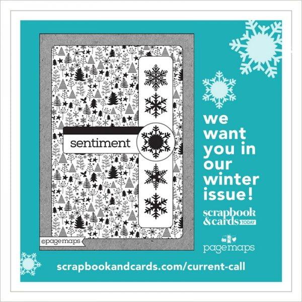 Scrapbook & Cards Today 2019 Winter Call
