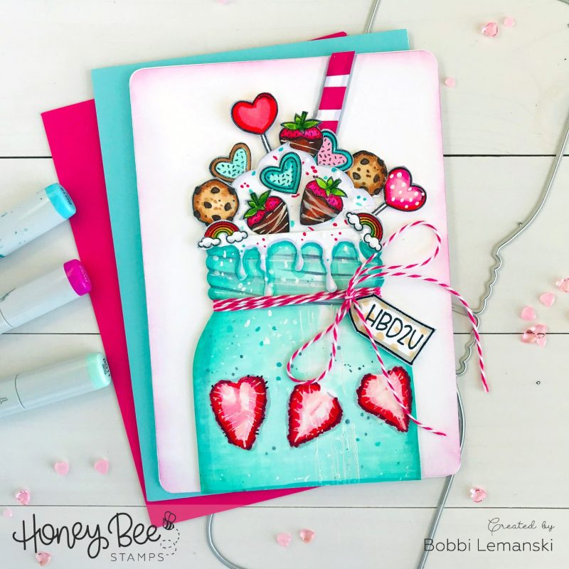 Bobbi Lemanski for Honey Bee Stamps