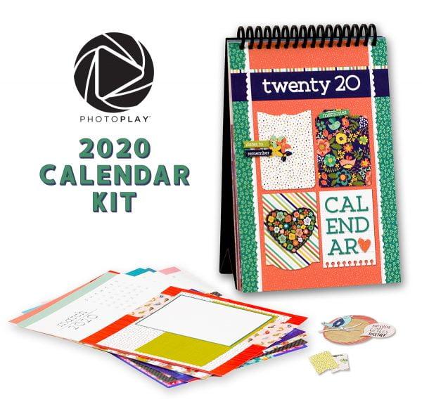 Photo Play Paper Calendar B