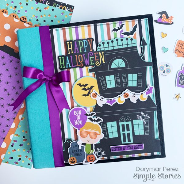 Dorymar Perez Simple Stories Say Cheese Halloween Snap Binder 1