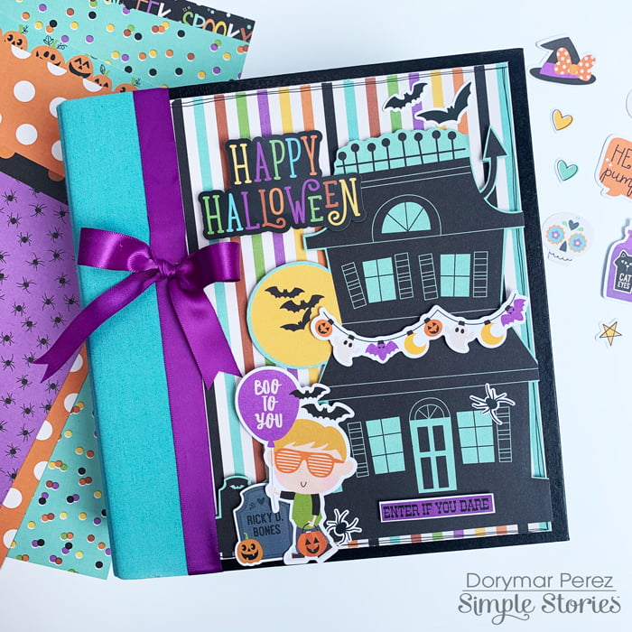 Dorymar Perez Simple Stories Say Cheese Halloween Snap Binder 1