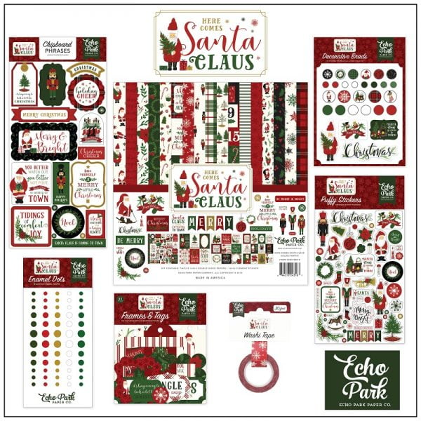 EchoParkPaper_Here_Comes_Santa_Claus_Collection_Kit