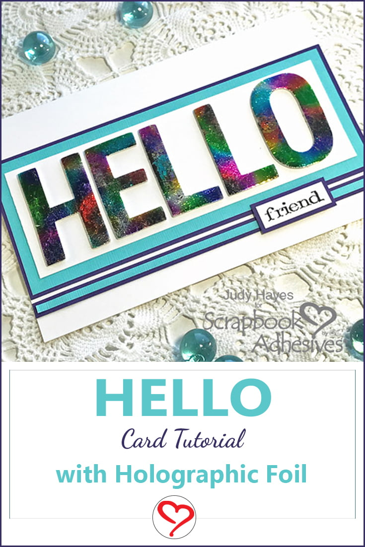 Hello Card Judy Hayes Long