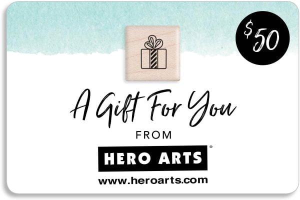 Hero Arts Gift Card 50 for SCT Magazine