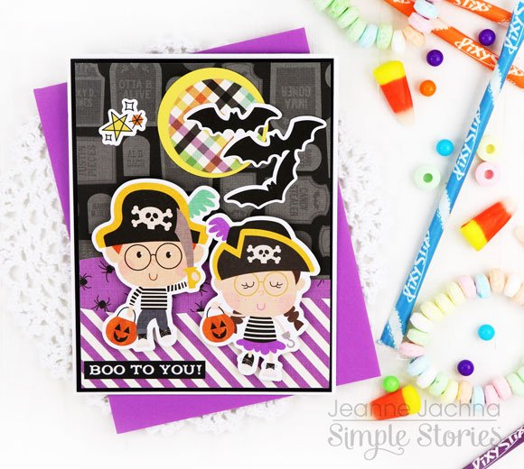 Jeanne Jachna Simple Stories Say Cheese Halloween Cards 1