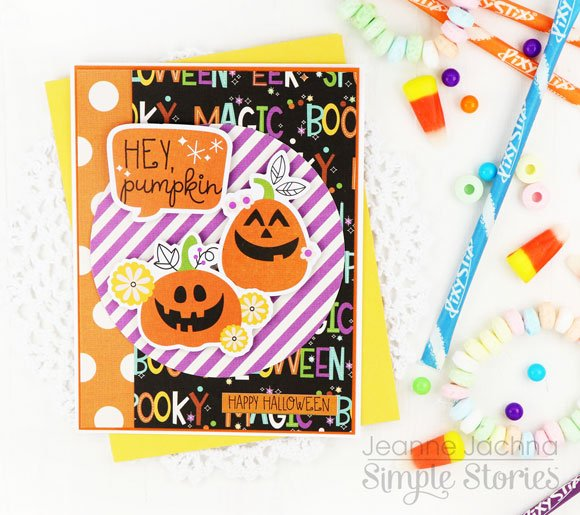 Jeanne Jachna Simple Stories Say Cheese Halloween Cards 2